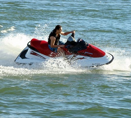 Jet Skiing and Banana Ride at Coco Beach in North Goa