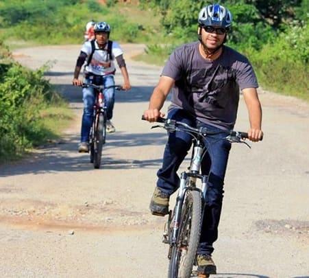 Big Banyan Tree Cycling in Bangalore