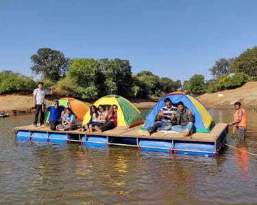 Floating Tent Camping in Kurungwadi ( near Igatpuri )