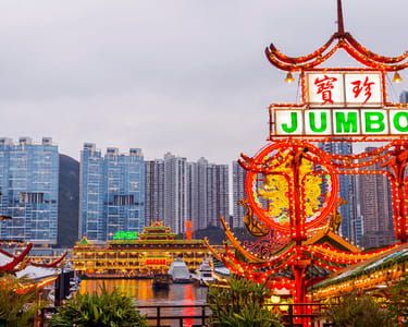 Jumbo Floating Restaurant, Hong Kong @ Flat 22% off