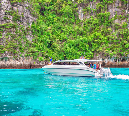 Phi Phi Islands by Speedboat from Krabi - Flat 28% off