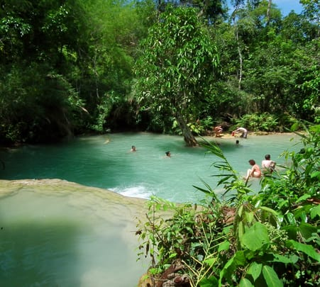 Half Day Kuang Si Waterfall Tour