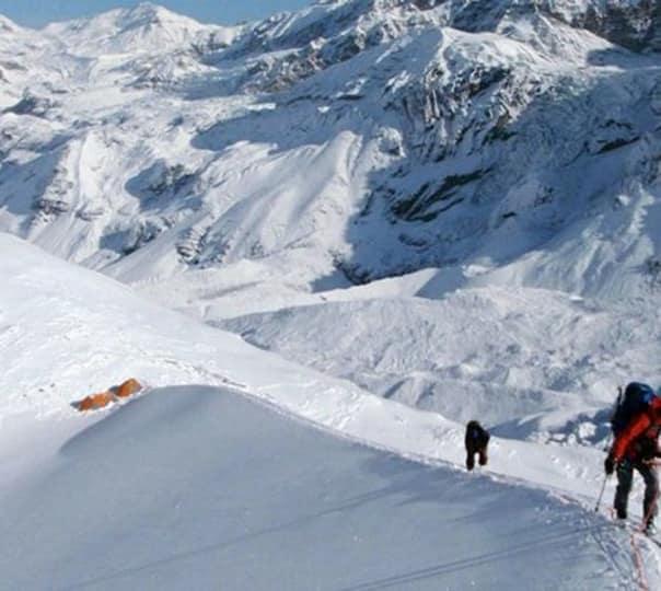 Chulu West Peak Climbing in Nepal