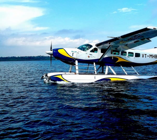 Seaplane Ride from Havelock to Port Blair