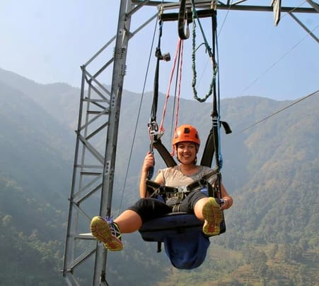 Combo: Zip Lining with Bungee Jumping in Nepal
