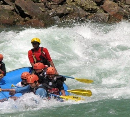 Biking, Rafting & Trekking in Rishikesh, 2018