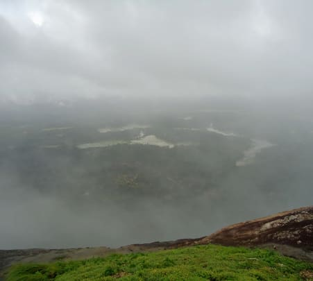 Narasimha Parvatha Eco Trek near Agumbe in Shimoga