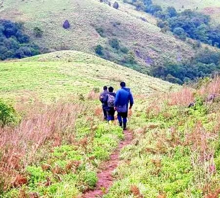 Nishani Motte Trek in Coorg with Water Falls Visit
