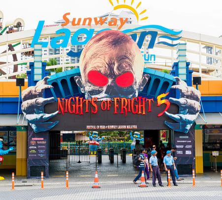 Sunway Lagoon Theme Park Tickets with Transfers @ Flat 15% off