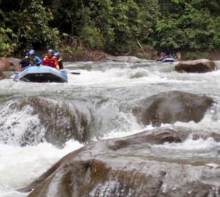 Rafting and Caving Tour in Malaysia