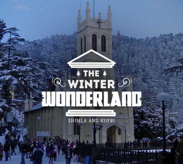Shimla and Kufri Tour: the Winter Wonderland
