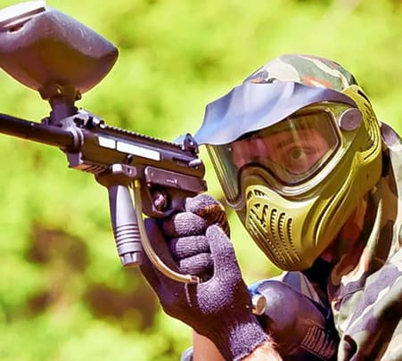 Colourful Paintball Adventure in Mysore