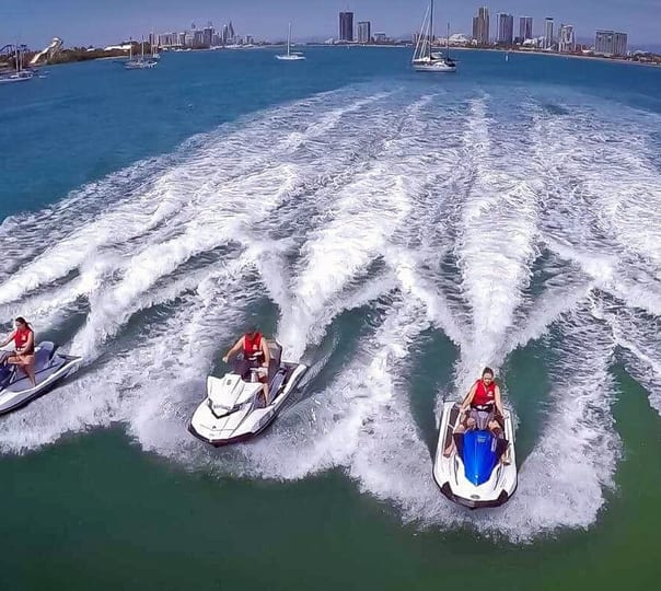 Jet Ski Island Safari and Buggy Ride in Gold Coast