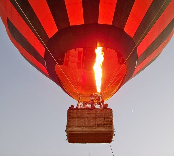 Hot Air Balloon Flight in Assolda Ground, Goa