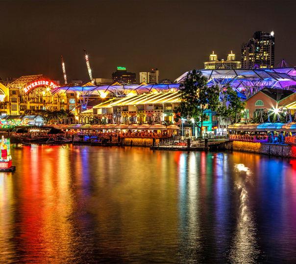 Night Walking Tour of Singapore
