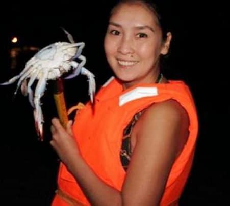 Crab Hunting at Night in Um El Quwain