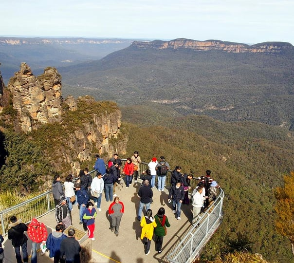 Private Tour to Blue Mountains and Featherdale Park in Sydney
