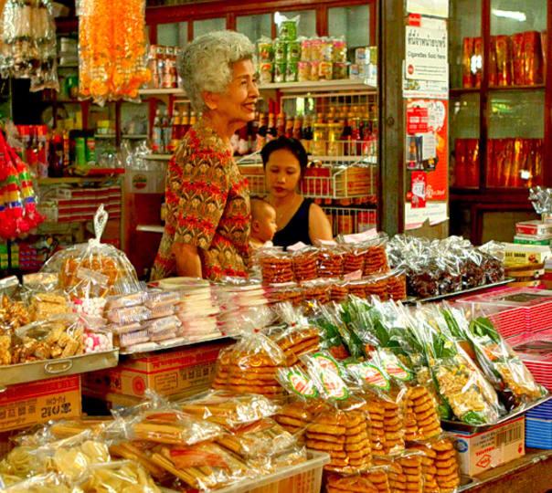 Weekend Escape to Klong Saun Market in Bangkok
