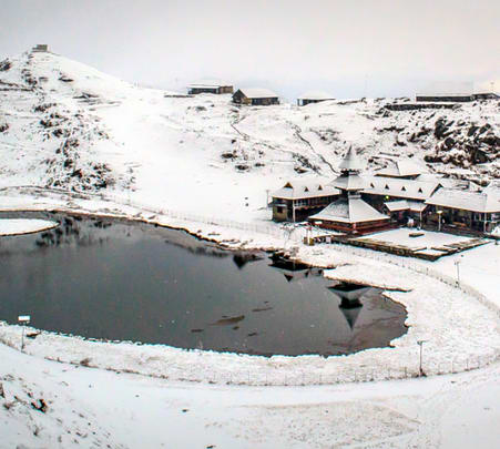 Snow Trek to Prashar Lake Trek with Yoga