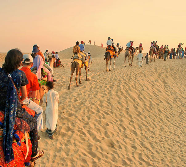 Half Day Desert Safari in Jaisalmer