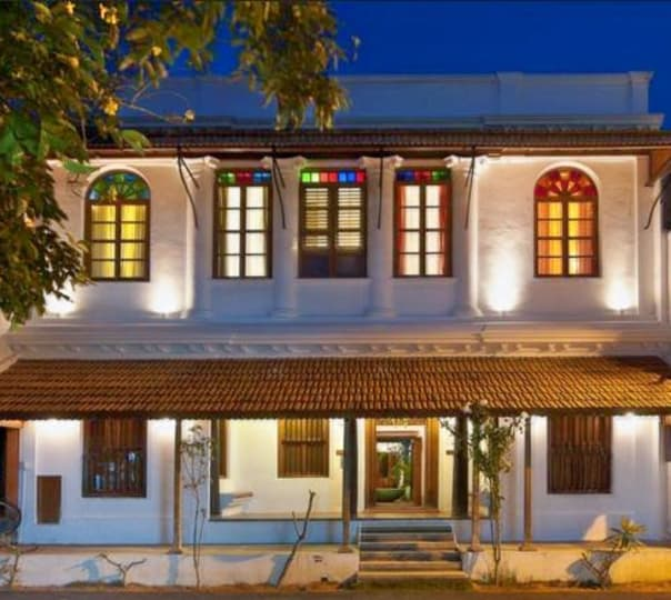 Stay at Mansion Perumal in Pondicherry