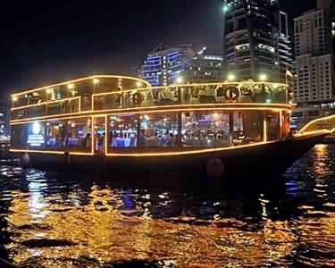 Dhow 4 Star Dinner Cruise in Dubai Marina