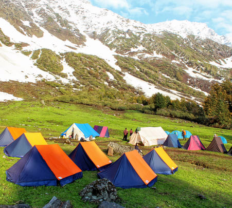 Kasol Camping Experience with Meals Flat 20% off