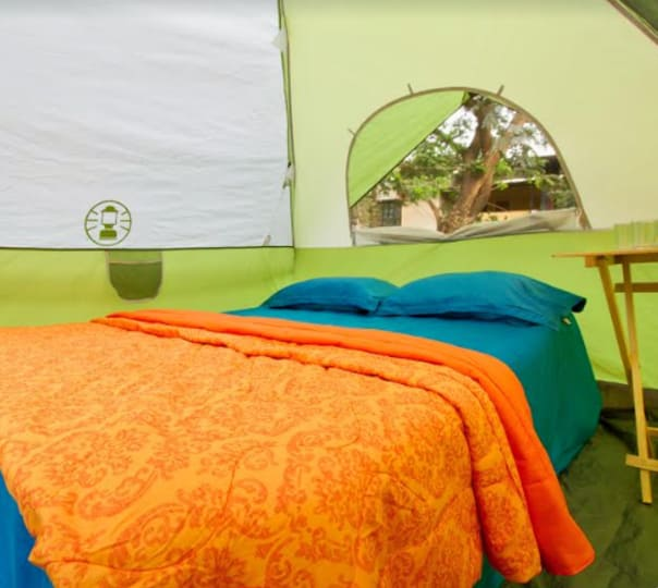 Valentines Day Glamping at Pavana Lake Campsite