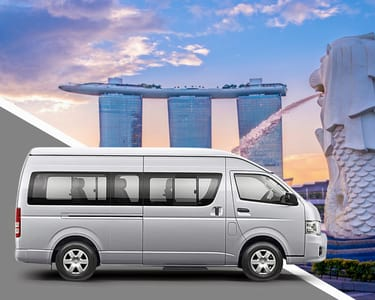 Shared Changi Airport Transfers to Singapore Hotels