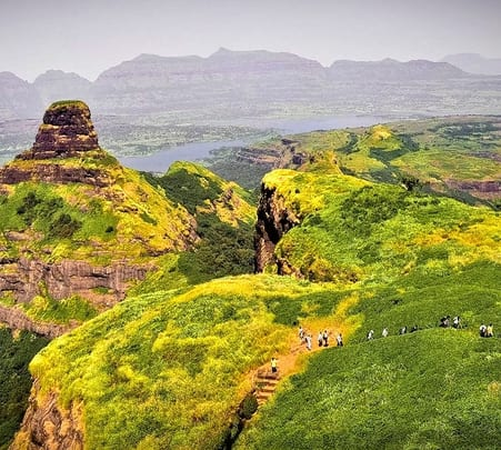 Ratangad Fort Trek in Igatpuri