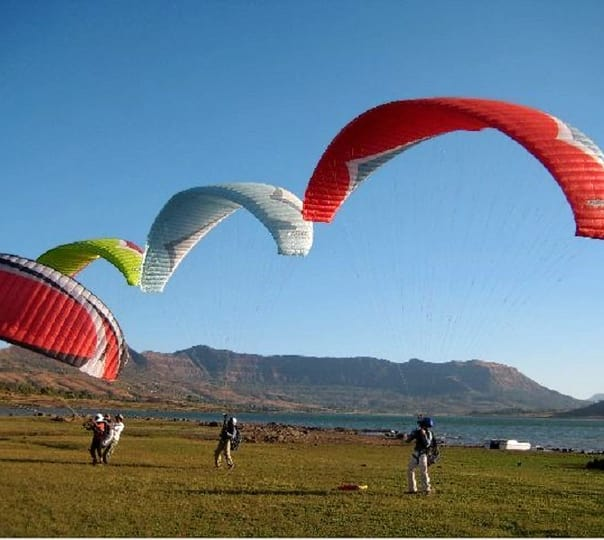 Paragliding Adventure at Kamshet in Pune
