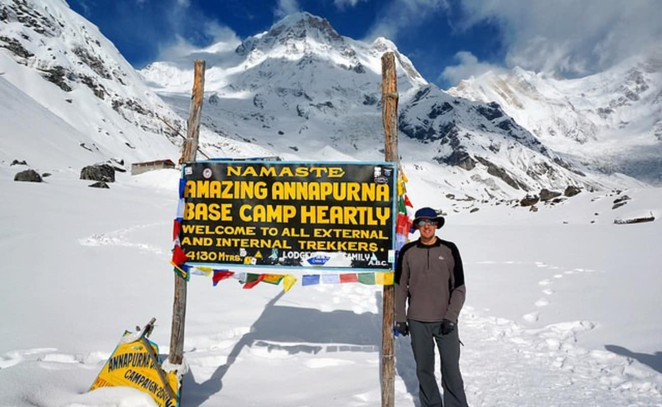 The Annapurna Base Camp Trek,