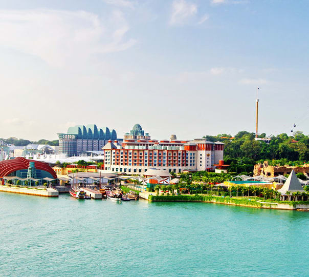 Tour of Sentosa Island, Singapore
