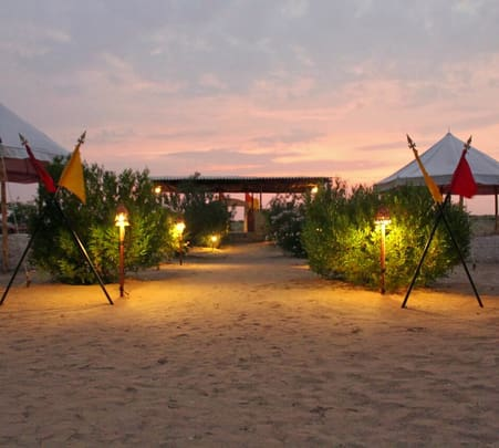 Camping on the Sand Dunes of Jaisalmer Flat 31% off
