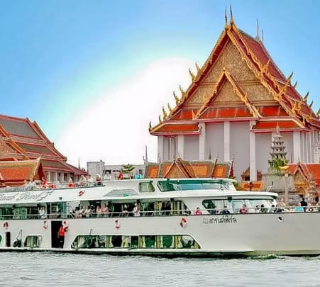 Ayutthaya Tour by Grand Pearl Cruise near Bangkok