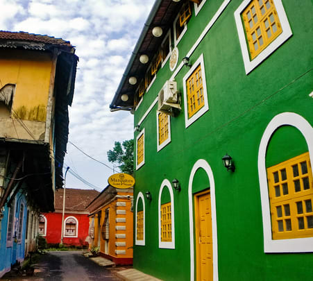 Latin Quarter Walking Tour in Goa