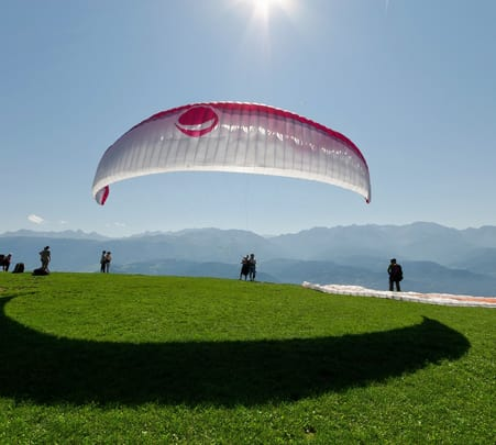 Paragliding at Solan
