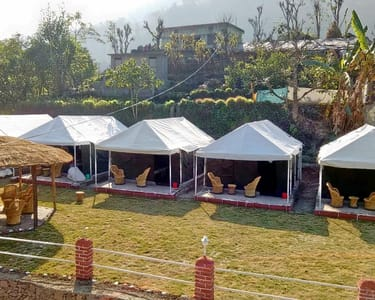 Camping in Rishikesh with Rafting Flat 27% off