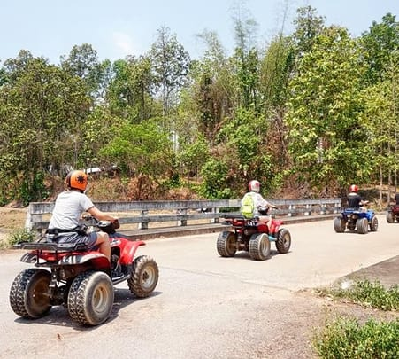 3 Hour Atv Ride & 10 Km Rafting in Chiang Mai