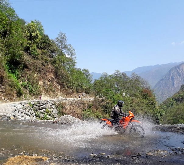 Royal Enfield Bike Tour in Bhutan