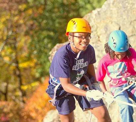 Rock climbing and Rappelling in Mussoorie