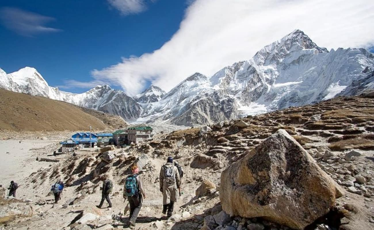 how to go to mount everest base camp