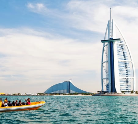 Boat Ride to Atlantis, Palm Jumeirah, Burj Al Arab & Marina - Flat 12% off