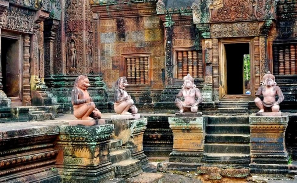 Image result for Banteay Srei