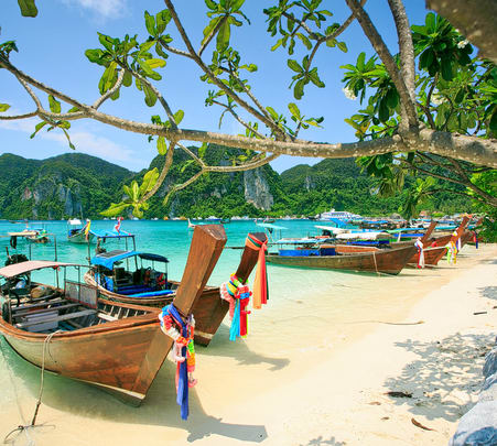 Phi Phi and Khai Islands Day Tour - Flat 30% off