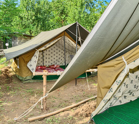Camping with Optional Rafting or Paragliding in Kullu