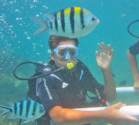 Scuba Diving at South Kuta in Bali