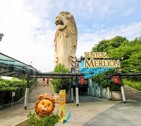Sentosa Merlion Singapore Tickets - Flat 25% off