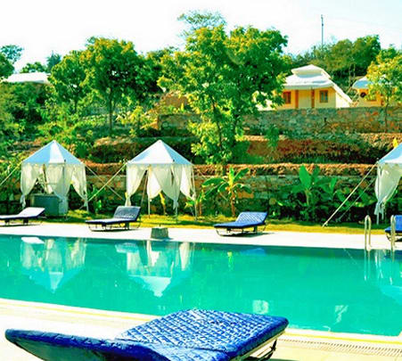Resort Stay in Udaipur