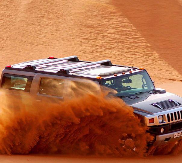 Hummer Desert Safari in Dubai